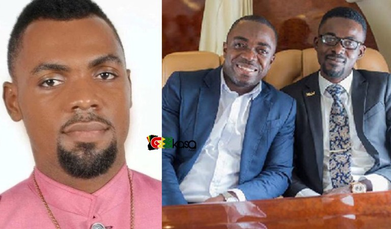 Rev Obofour gives accolades to Zylofon FM's Sammy Flex for being loyal