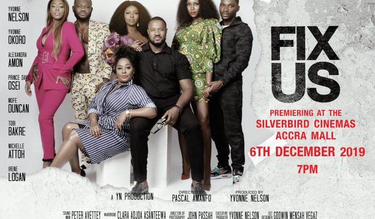 "Yvonne Nelson premieres ""Fix Us"" on December 6"