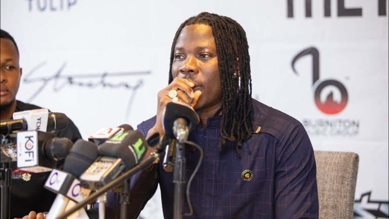 Stonebwoy, New Album, Stonebwoy Meet The Press