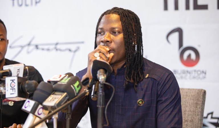 Video: Stonebwoy announces his new album with 15 tracks
