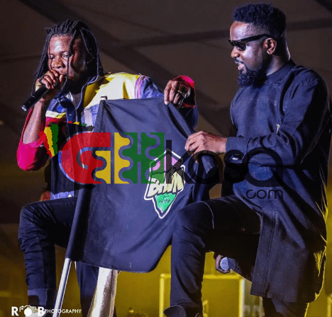 Sarkodie & Stonebwoy billed for the Beale Street Music Festival show in the Mississippi River