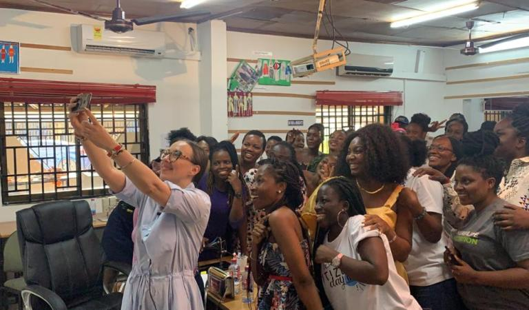 Topmost Ghanaian Fashion School Hits Hard On COVID-19 With Online Learning
