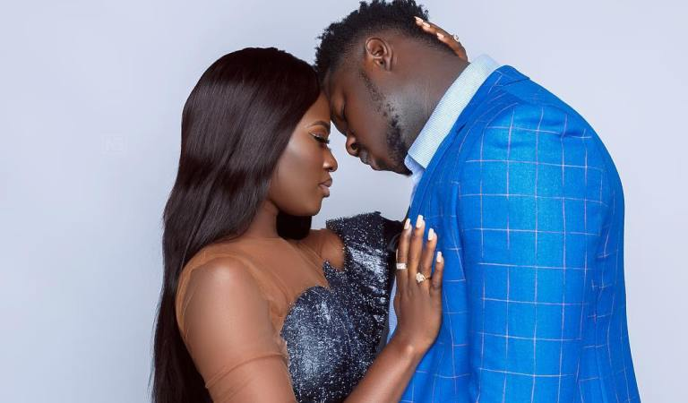 Exclusive Photos: Pre-Wedding Photos Of Fella Makafui And Medikal Drops