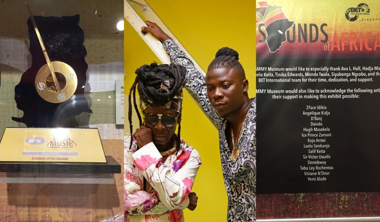 Kojo Antwi and Stonebwoy Gets Grammy Museum Acknowledgement