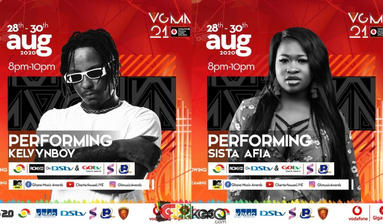 Tall List Of Artiste To Perform At The 2020 VGMA
