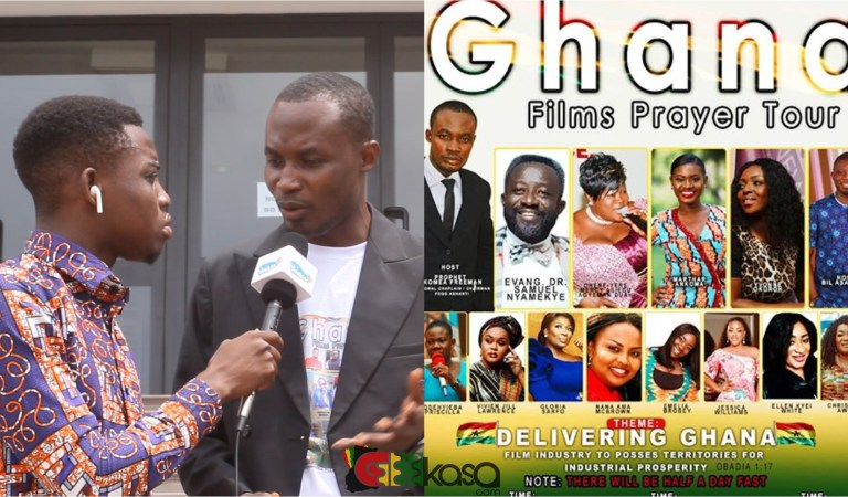 God Asked Me To Organise Ghana Film Prayer Tour To Revive The Industry – Prophet Freeman Claims