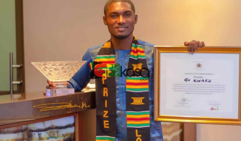 Millenium Excellence Awards Honors Blogger Ghkwaku