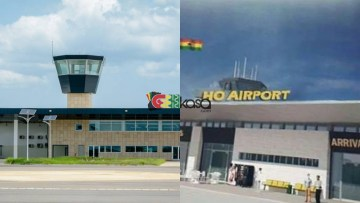 JM's Vision: Ho Airport Opens Under Akufo-Addo (Photos)