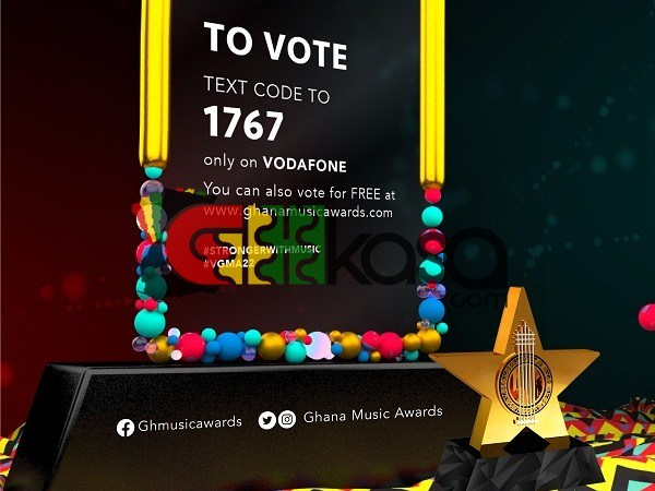Here's How To Vote For Your Favourite 2021 Vodafone Ghana Music Awards Nominee!