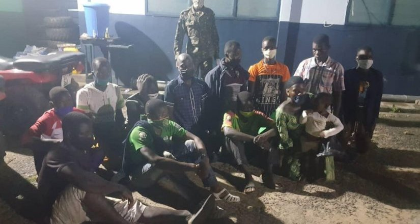 Western Region Immigration Service return illegal entrants to their countries