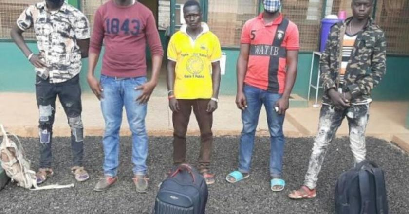 Five foreign nationals arrested for entering Ghana illegally