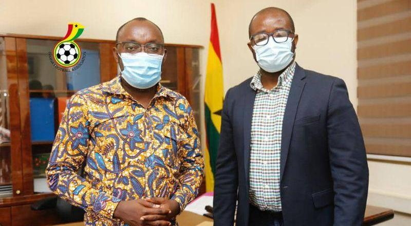 GFA President holds talks with scholarships secretariat