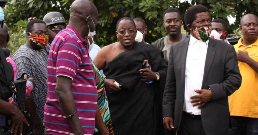 TENSION AT NEW OKUAPEMHENE'S INSTALLATION