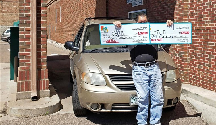 Man wins $1 million lottery with same numbers in one day