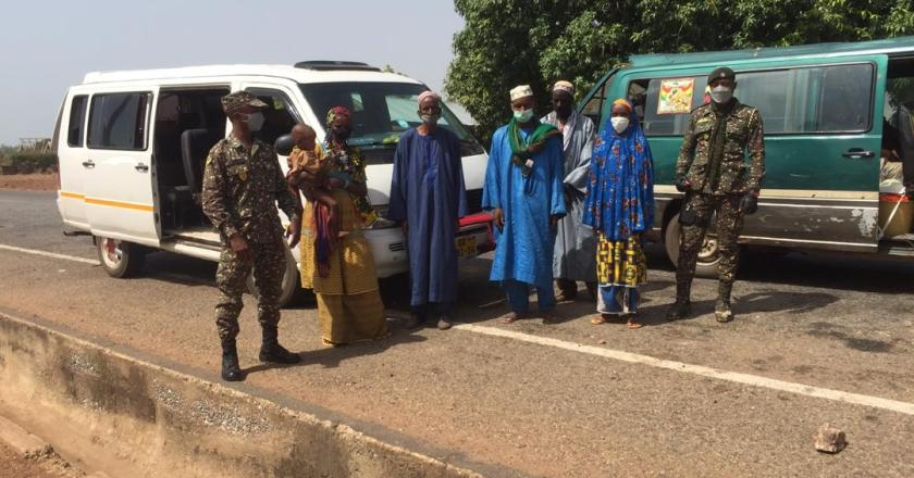 Nadowli: Immigration patrol arrest six Burkinabes for illegal entry to Ghana