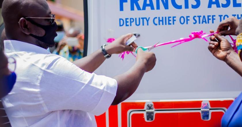Deputy Chief of Staff Donates Ambulance & Health Equipment to Suntreso Government Hospital in Kumasi