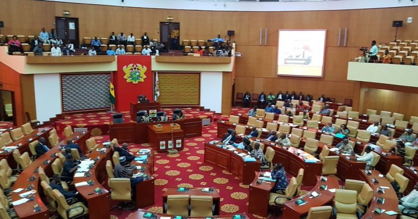 Parliament moves motion for Private Members' Bill
