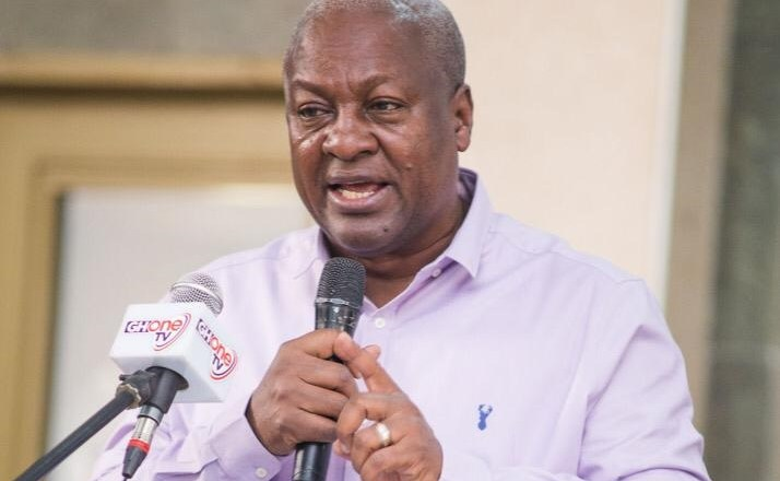 Mahama tours Volta and Oti Regions