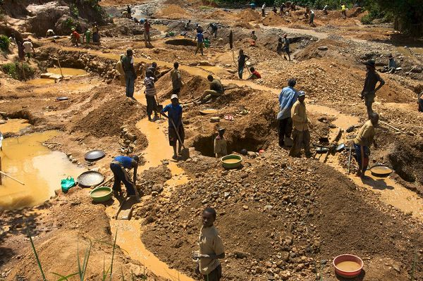 37-year-old Illegal miner trapped to death at Akyem Mampong