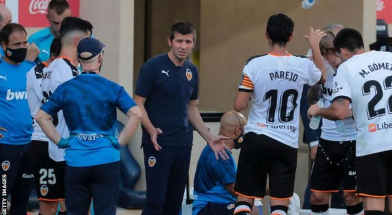 Valencia sack manager Albert Celades and sporting director resigns