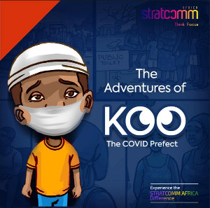 """Stratcomm Africa's COVID-19 related cartoon episode """"GYAE SAA"""" released"""