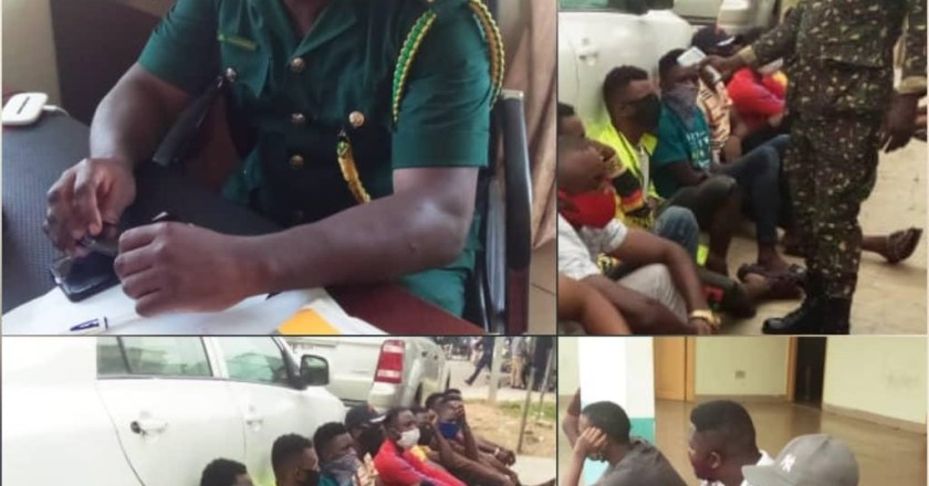 24 Nigerians arrested for illegal migration to Ghana