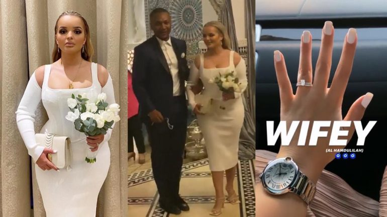 John Mahama's Son Shafik Weds Girlfriend In Dubai At Private Ceremony