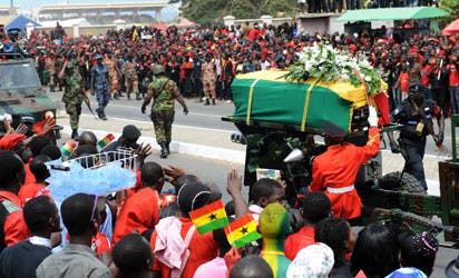 8th Anniversary of the death of John Evans Atta Mills