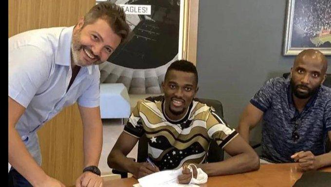 Bernard Mensah joins Besiktas on season-long loan