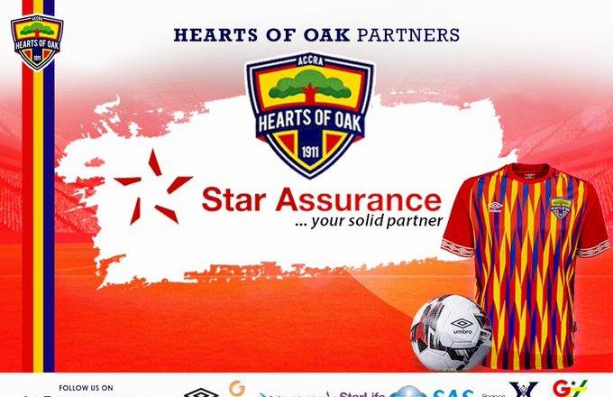 Hearts, Star Assurance sign partnership agreement