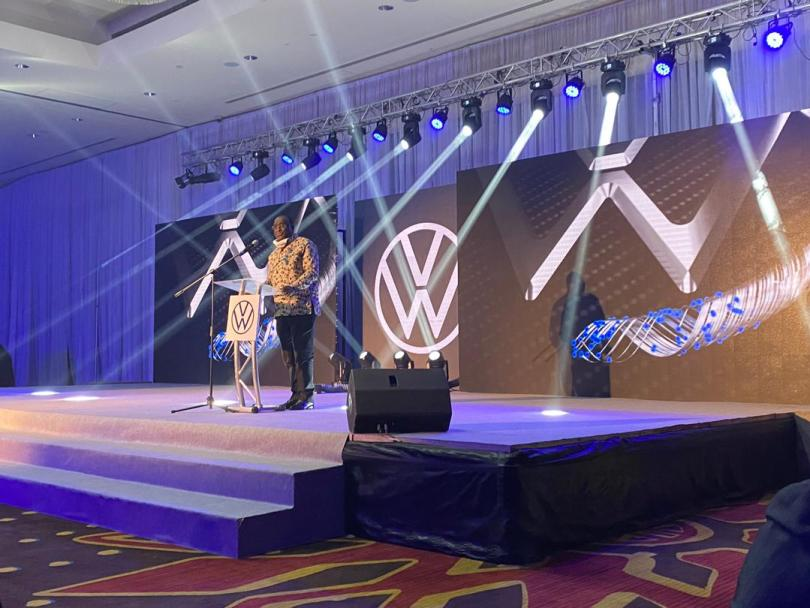 Trade ministry on course to reduce Ghana's import bill as VW unveils newly assembled vehicles in Ghana.