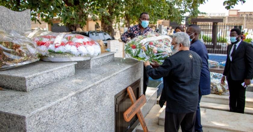 Rawlings mourns Edem Kodjo