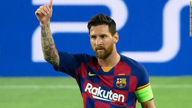 Champions League: Inspired Lionel Messi lifts Barcelona into quarterfinals