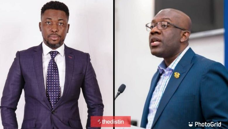 "Stop ""Chopping"" People's Wife A Plus Tells Kojo Oppong Nkrumah"