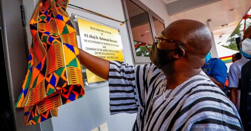 Bawumia commissions Infectious Diseases Treatment Centre at 37 Military Hospital
