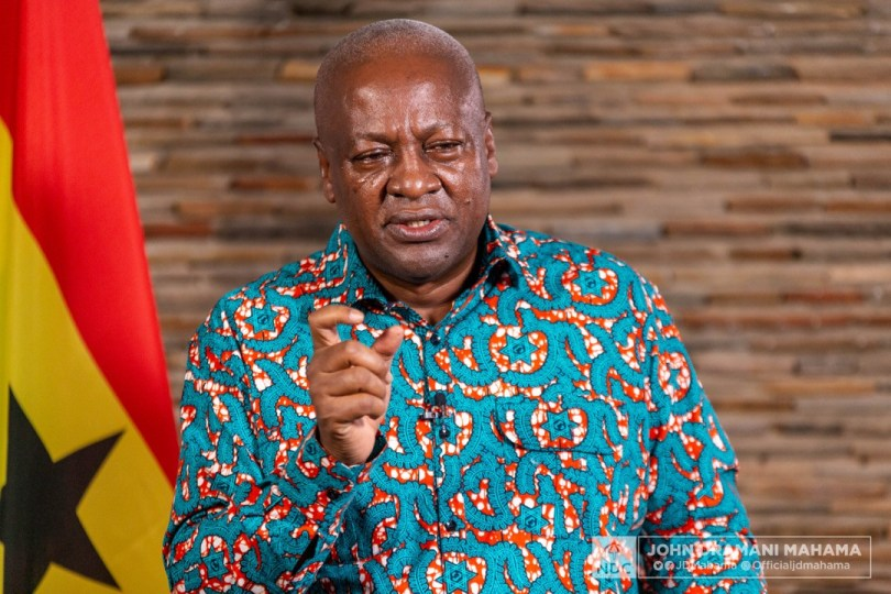 Former President Mahama to promote Agri-business