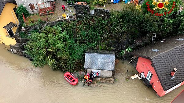 Eight missing in south-east France after heavy rains, flooding