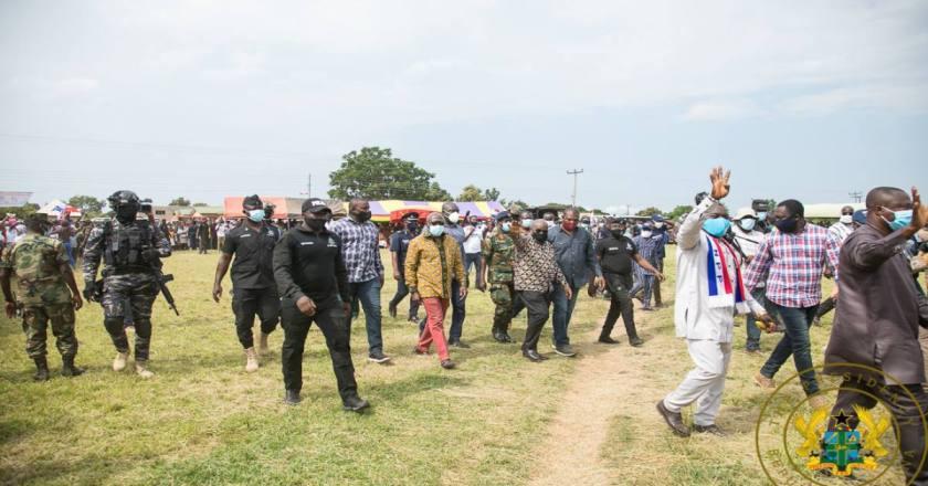 President Akufo-Addo Tours Volta And Oti Regions