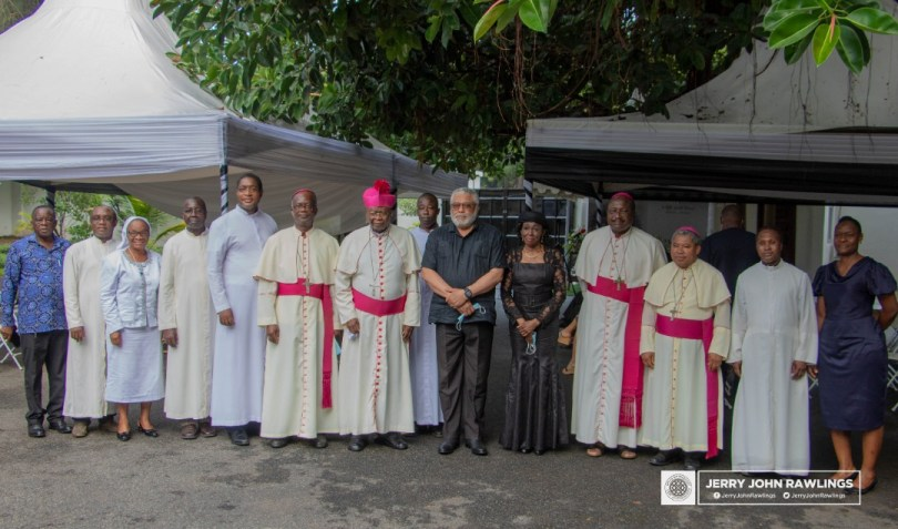 Catholic Bishops Conference, GJA commensurate with former President Rawlings