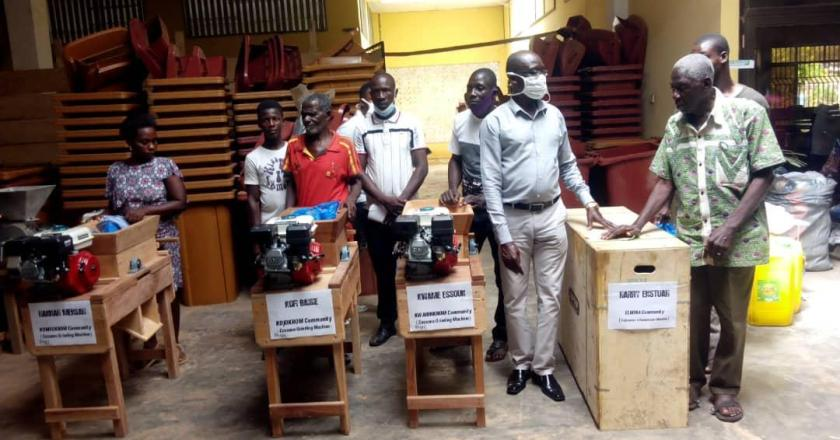 PWDs in KEEA receive items to boost their businesses