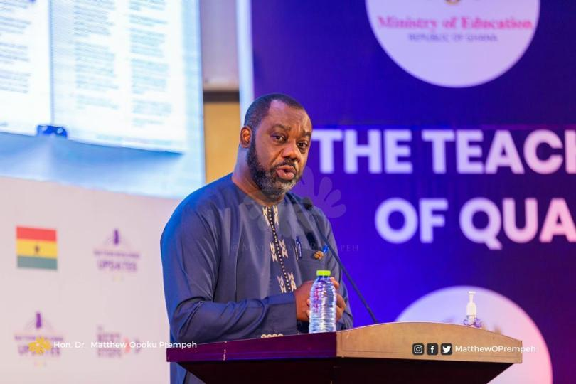 Akufo-Addo's gov't outlines achievements in teacher transformation