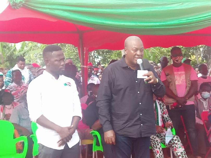 Mahama promises to acquire cattle grazing for headsmen in next NDC government