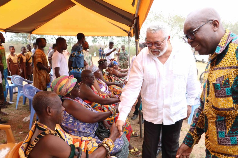 Sad tributes pours in for J J Rawlings