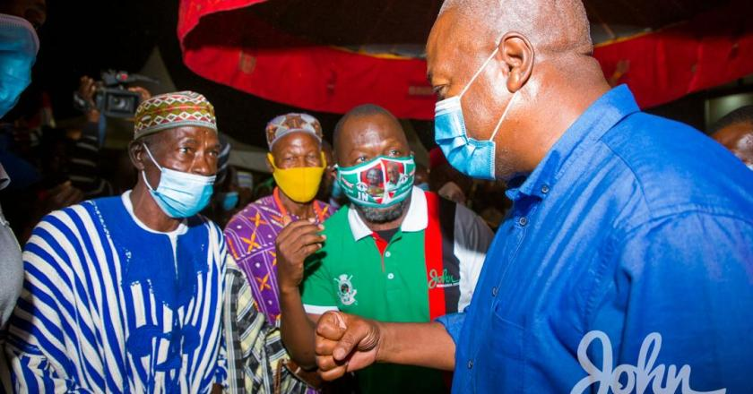 Save Ghana by rejecting Akufo-Addo's corrupt Government Mahama urges voters
