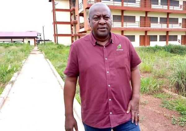 Akufo-Addo is bathing in corruption -Mahama