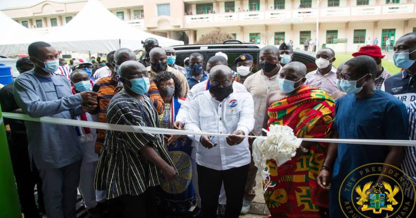 "More progress, more prosperity, more development in my 2nd term"" – President Akufo-Addo"