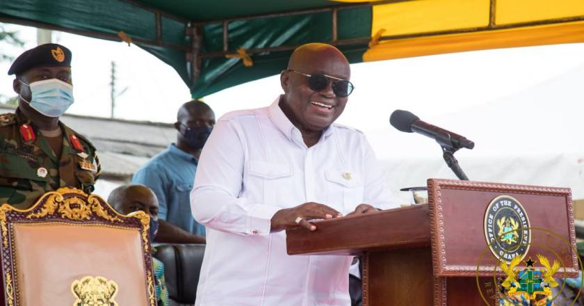 President Akufo-Addo pledge to sustain peace and security in Ghana