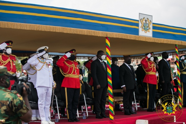 Rear Admiral Seth Amoama appointed as acting Chief of Defence Staff