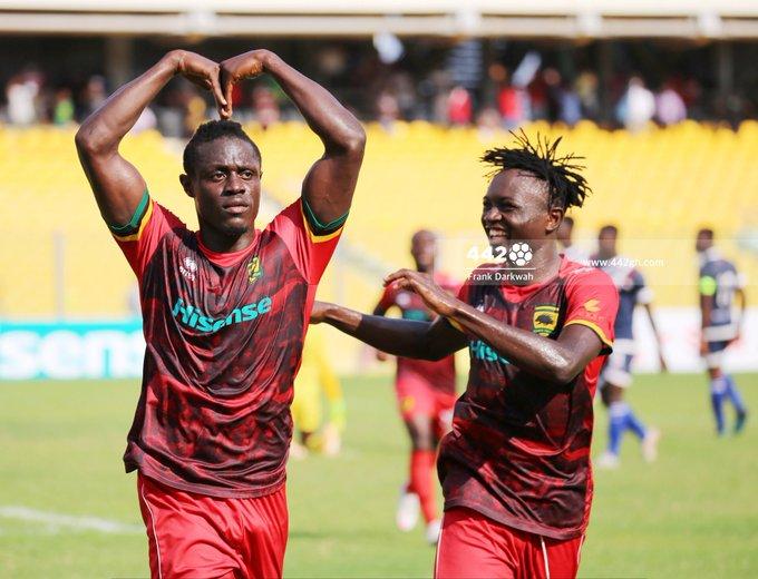 Kwame Poku shines as Kotoko beat Liberty in Accra