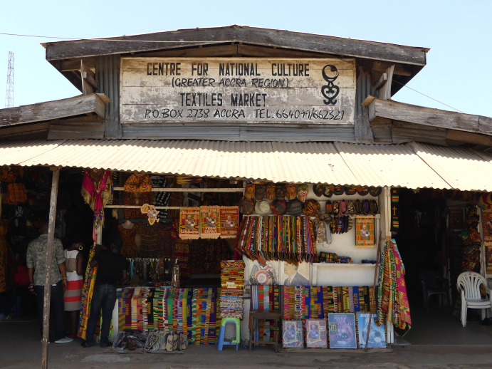 Patronage of artefacts tumbles at the Accra Arts Centre
